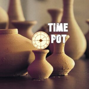 Ghatika pot measured time in 24 minute units